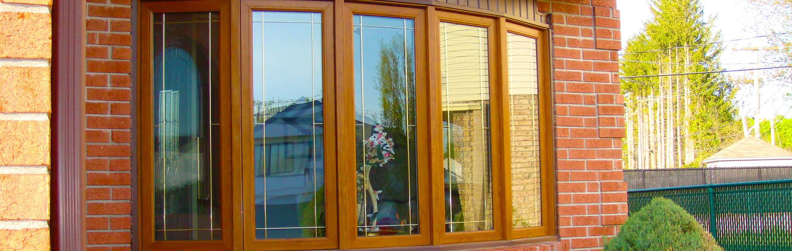 Bay or bow window auroral doors and windows for Fenetre baie window prix