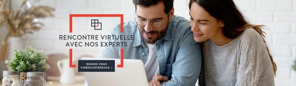 Rencontre virtuelle avec nos experts