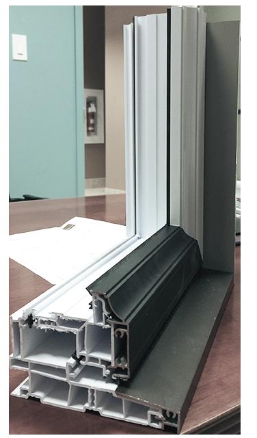 Hybrid (uPVC / Aluminium) Hybrid Cut