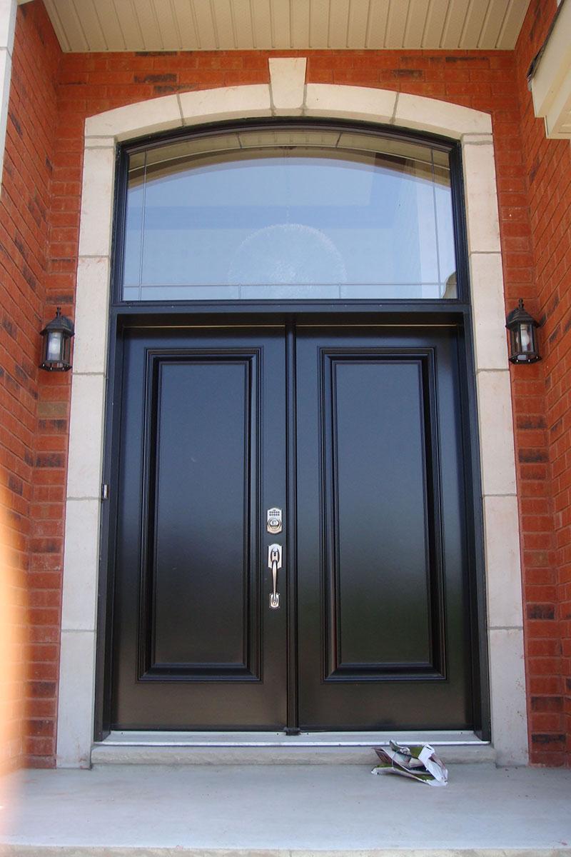 R alisations auroral portes et fen tres for Porte acier exterieur